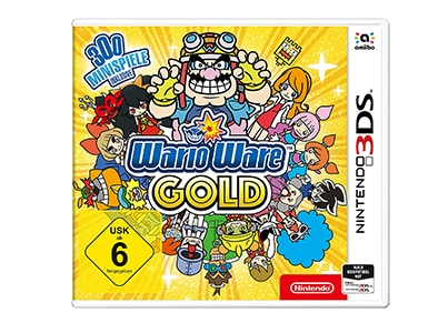 Warioware Gold - Nintendo 3DS Game gaming   παιχνίδια ανά κονσόλα   3ds 2ds