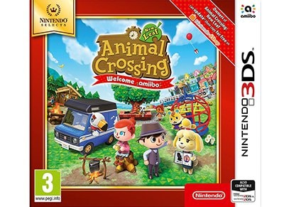 Animal Crossing: New Leaf Welcome Amiibo Selects - 3DS/2DS Game