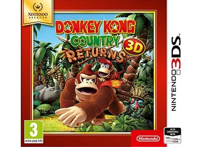 Donkey Kong Country Returns 3D Selects - 3DS/2DS Game