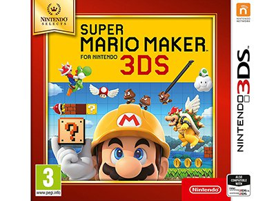 Super Mario Maker Selects - 3DS Game