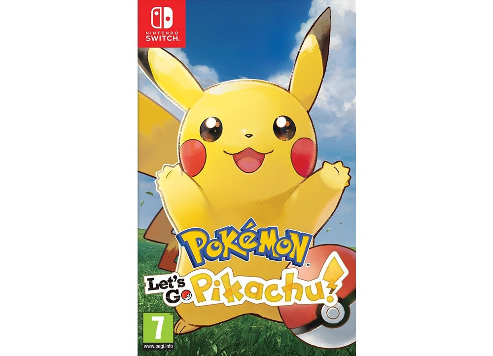 Pokemon Let's Go Pikachu! - Nintendo Switch Game