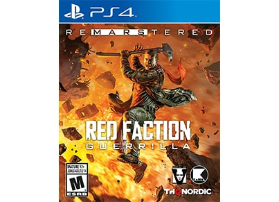 Red Faction Guerrilla Re-Mars-tered - PS4 Game
