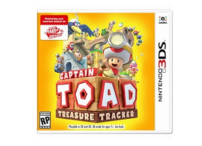 Captain Toad: Treasure Tracker - 3DS Game
