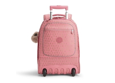 3765a6bd992 Σακίδιο Τρόλεϋ Kipling Class Soobin Pink Gold Drop