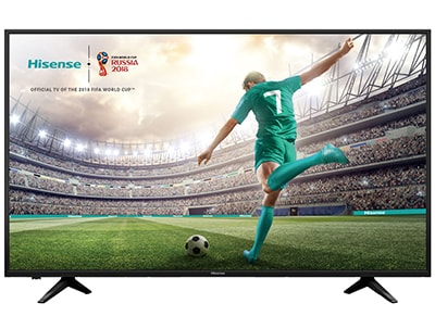 "Τηλεόραση Hisense 55"" Smart LED Ultra HD HDR H55A6100"