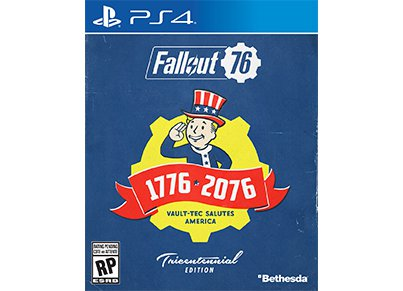 Fallout 76 Tricentennial Edition - PS4 Game