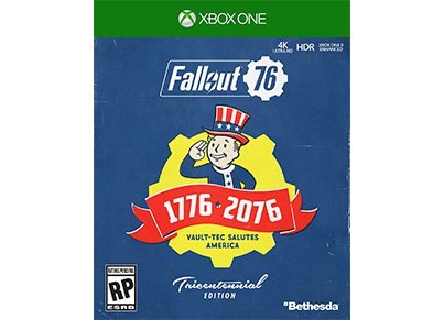Fallout 76 Tricentennial Edition - Xbox One Game