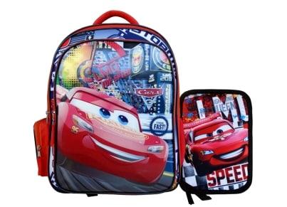 5ad9260d20 Τσάντα Πλάτης Paxos Cars με Δώρο Κασετίνα Γεμάτη