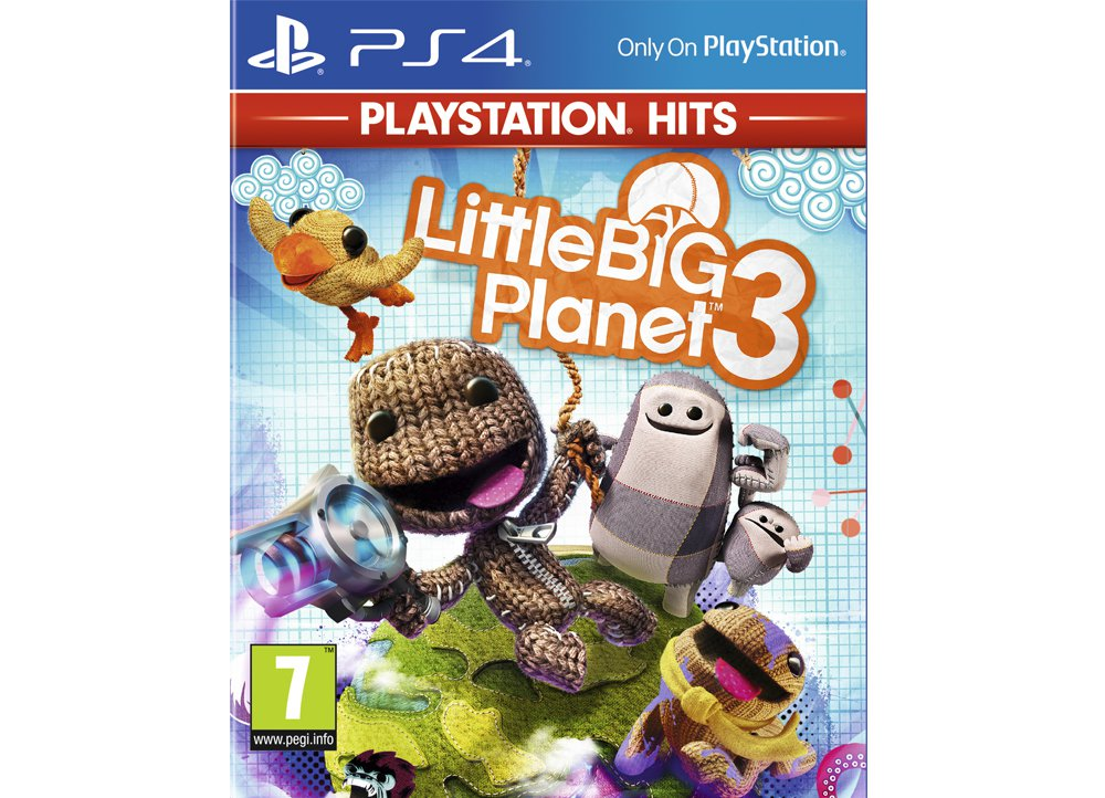 LittleBig Planet 3 PlayStation Hits - PS4 Game