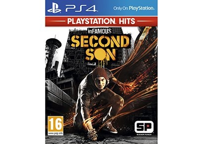inFamous: Second Son PlayStation Hits - PS4 Game gaming   παιχνίδια ανά κονσόλα   ps4