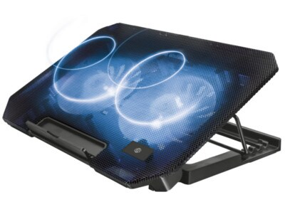 "Βάση Laptop Cooler 15.6"" Urban Revolt Dual Fan Μαύρο"