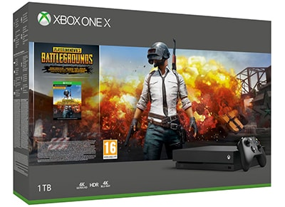 Microsoft Xbox One X 1TB Μαύρο & PlayerUnknown's Battlegrounds