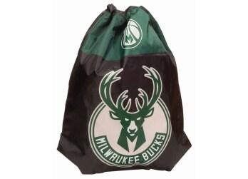 45feff7165 Τσάντα Πλάτης με Κορδόνι NBA Milwakee Bucks