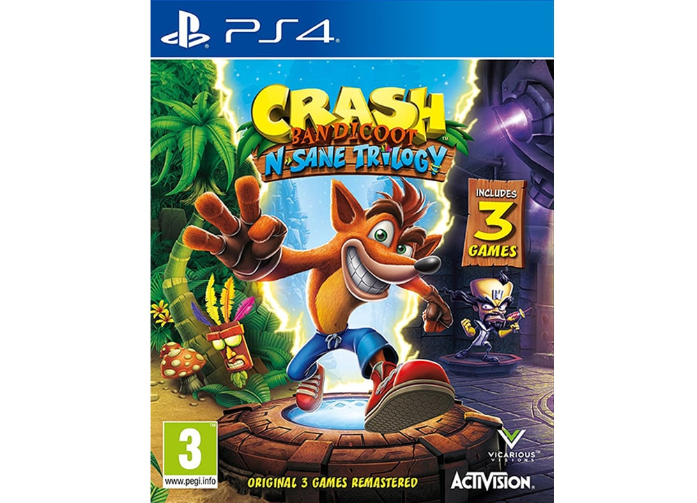 Crash Bandicoot N. Sane Trilogy 2.0 - PS4 Game
