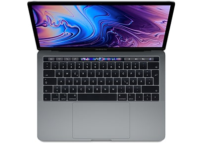 "Apple MacBook Pro Retina 13.3"" (Mid 2018) (i7-8559U/8GB/256GB SSD/Iris Plus) Sil υπολογιστές   αξεσουάρ   laptops"
