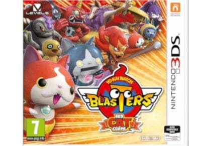 Yo-Kai Watch Blasters Red Cat- Nintendo 3DS Game