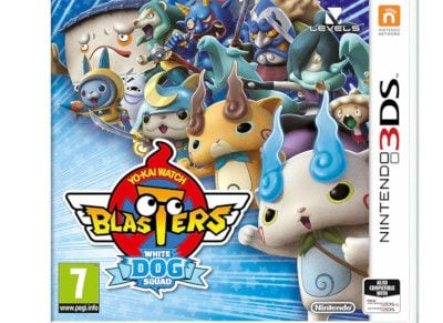 Yo-Kai Watch Blasters White Dog- Nintendo 3DS Game