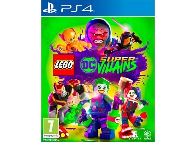 PS4 Used Game: LEGO DC Super Villains