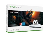 Microsoft Xbox One S White - 1TB & Shadow of the Tomb Raider