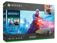 Microsoft Xbox One X 1TB Gold Rush Special Edition & Battlefield V Deluxe Edition