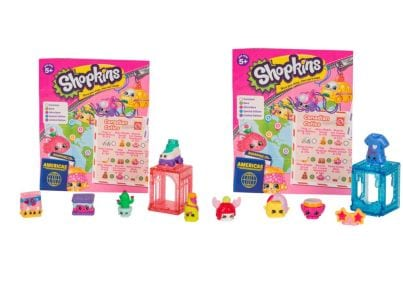 Σετ Shopkins S8 World Vacation W3 (5 Τεμάχια)