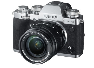 Mirrorless Camera Fujifilm X-T3 18-55mm Ασημί