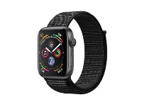 Apple Watch Series 4 40mm Aluminum Space Gray Sport Loop Black