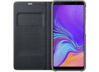 Θήκη Samsung Galaxy A7 2018 Wallet Cover Black