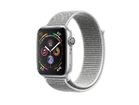 Apple Watch Series 4 44mm Aluminum Silver Sport Loop Seashell