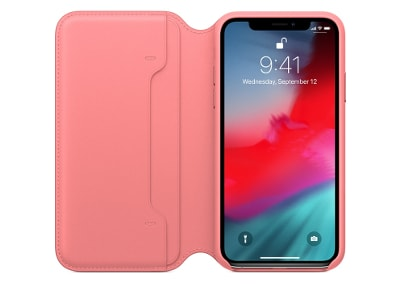 Θήκη iPhone XS Max - Apple Leather Folio - Pink