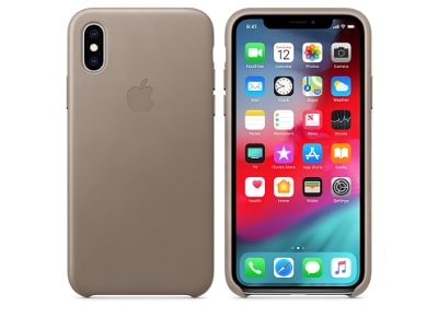 Θήκη iPhone XS Max - Apple Leather Case - Taupe