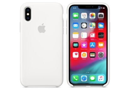 Θήκη iPhone XS Max - Apple Silicone Case - White