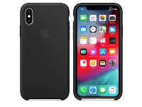 Θήκη iPhone XS - Apple Silicone Case - Black