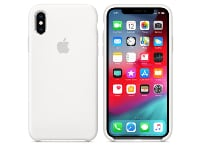 Θήκη iPhone XS - Apple Silicone Case - White