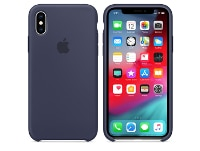 Θήκη iPhone XS - Apple Silicone Case - Midnight Blue