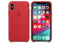 Θήκη iPhone XS - Apple Silicone Case - (Product) Red