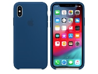 Θήκη iPhone XS - Apple Silicone Case - Blue Horizon