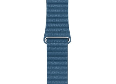 Apple Watch 44mm Leather Loop Band (Large)- Cape Cod Blue
