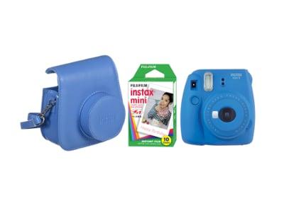 686c61f5ab Camera Fujifilm Instax Mini 9 Cobalt Blue   Fujifilm Instax Mini Instant  Film 10 χαρτάκια