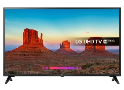 "Τηλεόραση LG 60"" Ultra HD HDR 4K TV 60UK6200PLA"