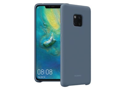 Θήκη Huawei Mate 20 Pro - Back Case Silicon Μπλέ