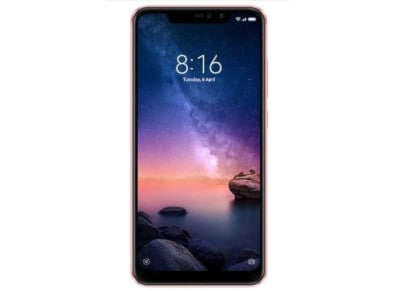Xiaomi Redmi Note 6 Pro 64GB Rose Gold Smartphone