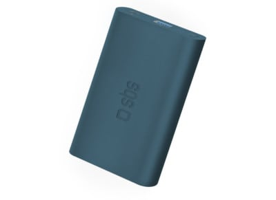 Powerbank USB SBS Portable Battery Backup 5000 mAh 2.1A Μπλέ