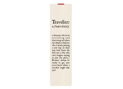 3735e5f85b Σελιδοδείκτης Legami Booklovers Traveller