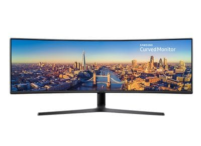 "Οθόνη Υπολογιστή 49"" Samsung LC49J890DKUXEN - Super-Ultra Wide Monitor with USB-C"