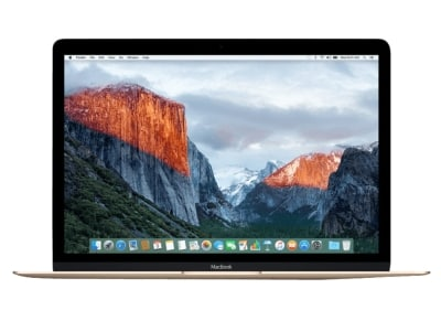 "Laptop Apple MacBook MRQP2GR/A - 12"" (i5/8GB/512GB/HD Graphics 615) - Gold"