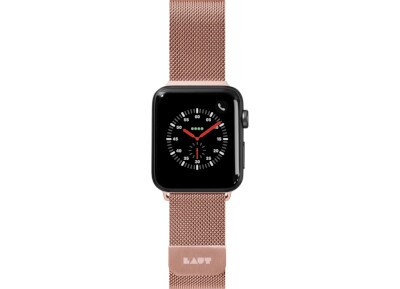 Apple Watch Series 38mm Laut Steel Loop Band - Rose Gold