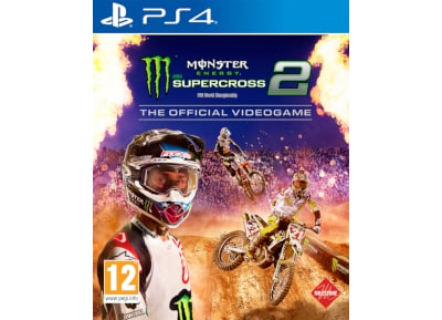 Monster Energy Supercross the Official Videogame 2 – PS4 Game