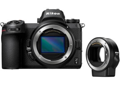 Mirrorless Nikon Z6 & FTZ Adapter Μαύρο