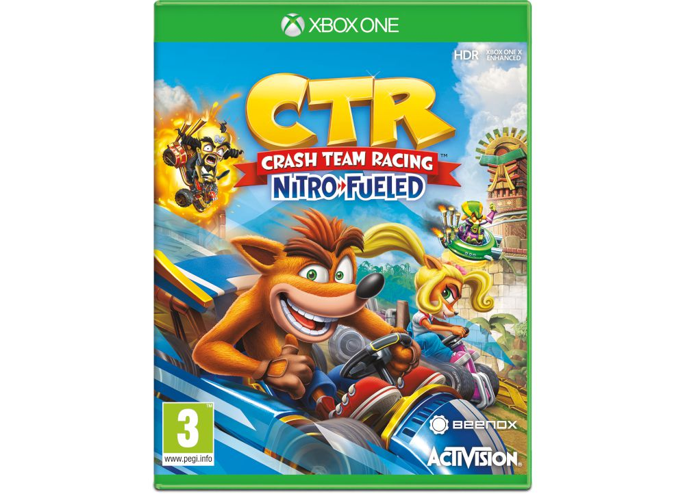 Crash Team Racing: Nitro-Fueled - Xbox One Game